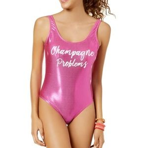 California Waves Swim - California Waves | Champagne Problems One Piece M